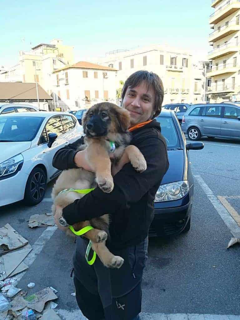 Stefano e Concetta cucciola
