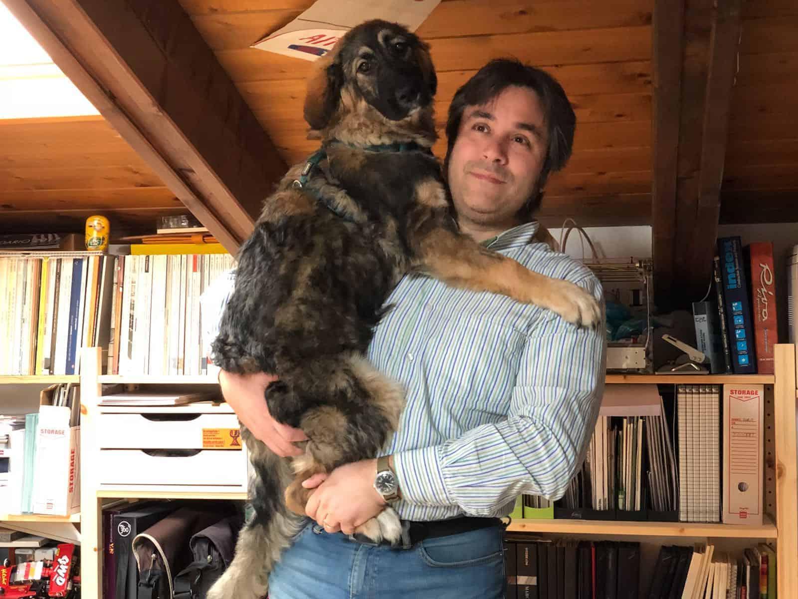 Stefano tiene in braccio Concetta